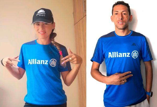 ALLIANZ COLOMBIA Y CORRECAMINOS DE COLOMBIA PRESENTARON LA CAMISETA OFICIAL