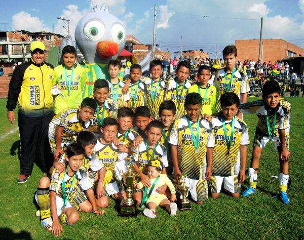 Caterpillar Subcampeon Gaitana