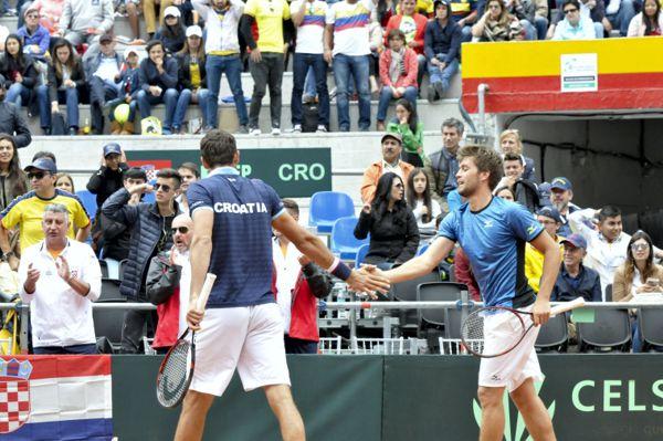 Cilic Mektic ganaron el dobles