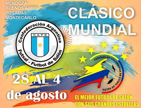 Clasico Mundial Futbol de Salón