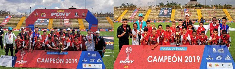 Club Estudiantil Medellín doble corona