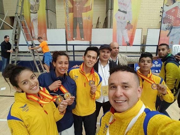 Colombia 2 oros en Taekwondo