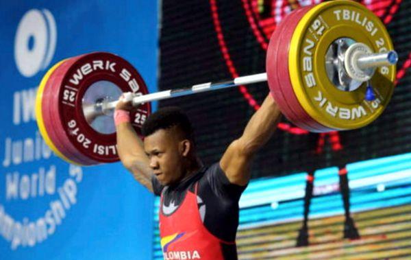 Colombia 7 medallas pesas