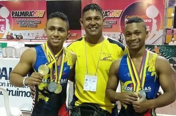 Colombia 9 medallas panamericano pesas sub 18