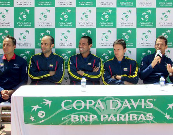 Colombia Sorteo Copa Davis