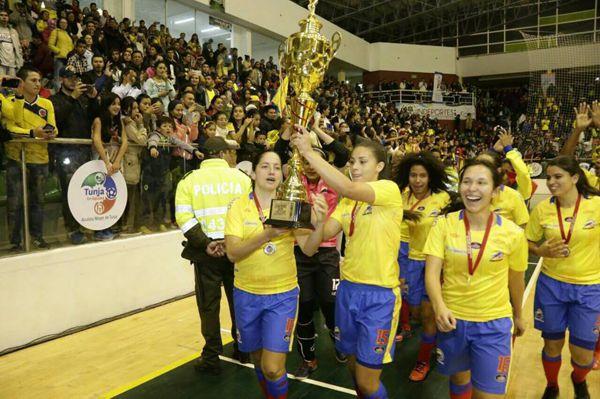 Colombia campeón Suramericano Boyacá