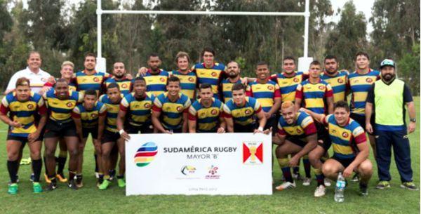 Colombia campeón sudamericano rugby