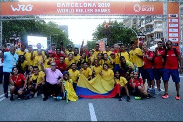 Colombia campeon carreras Barcelona