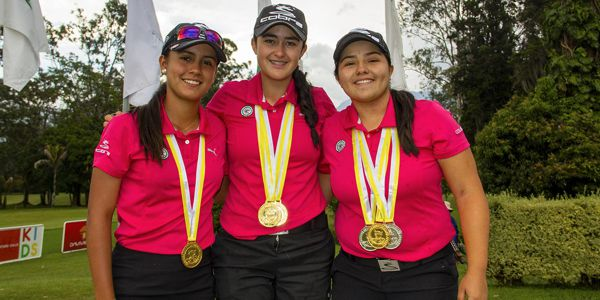 Colombia campeon damas golf