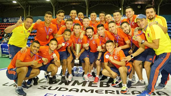 Colombia campeon sudamericana zona norte