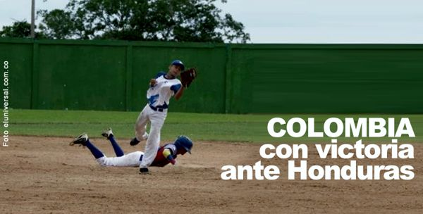 Colombia con victoria ante Honduras