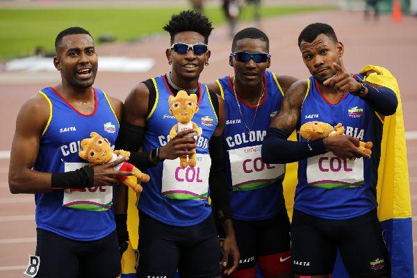 Colombia cuarta en relevos en el mundo