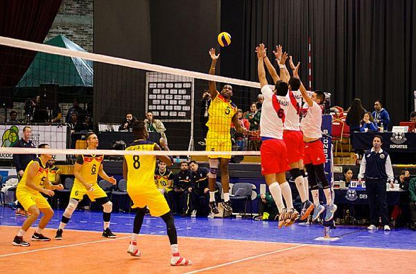 Colombia derrotó a Perú en Sudamericano Voleibol