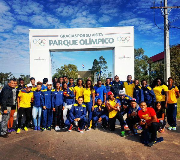 Colombia en Suramericano Atletismo