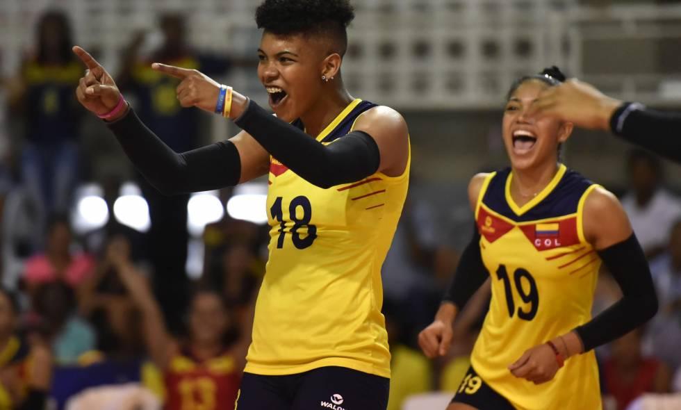 Colombia enfrentará a Brasil Suramericano de Voleibol