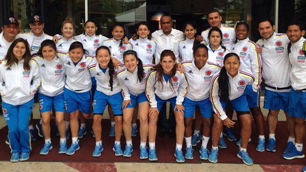 Colombia femenina sub 20 futsal