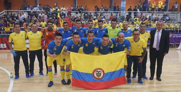 Colombia lider grupo b