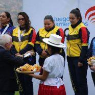 COLOMBIA QUEDÓ AL COMANDO DE LOS JUEGO SURAMERICANOS