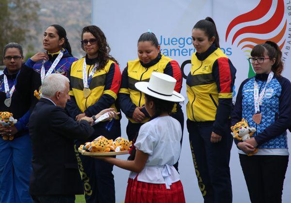 Colombia quedó al mando de los juegos Suramericanos