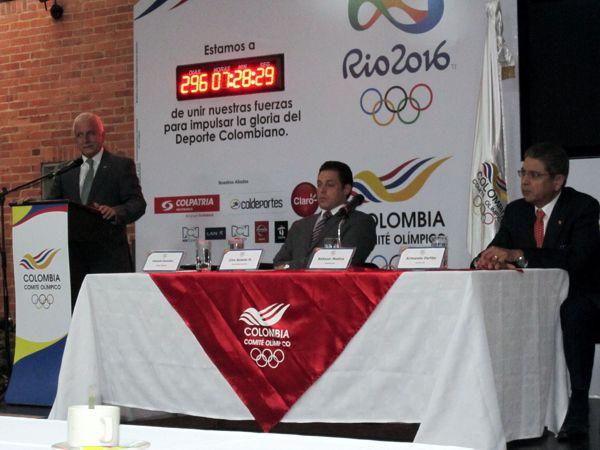 Colombia rumbo a Rio 2016