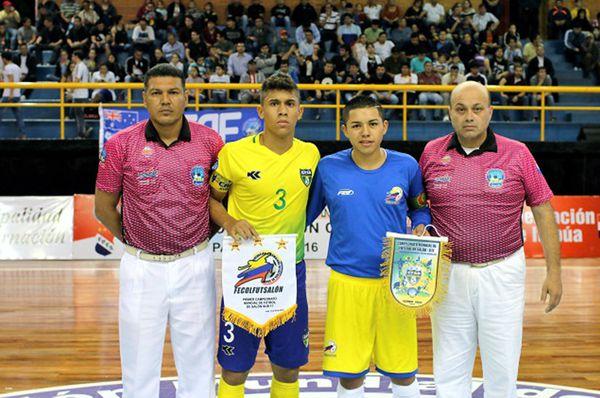Colombia vs Brasil en Paraguay