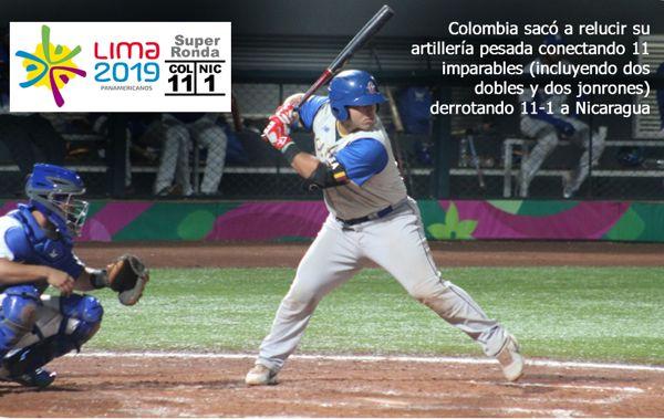 Colombia y Puerto Rico pegan primero