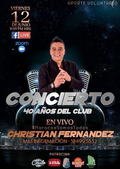 CONCIERTO 'MARACAS SOMOS TODOS' CON CHRISTIAN FERNÁNDEZ