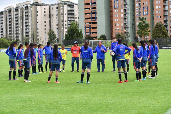 Convocatoria Selección Colombia Sub 17 Femenina para Uruguay