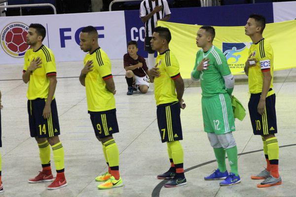 Convocatoria selección Bolivarianos futsal