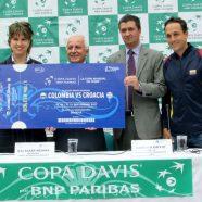 PRESENTACIÓN OFICIAL SERIE COPA DAVIS COLOMBIA Y CROACIA