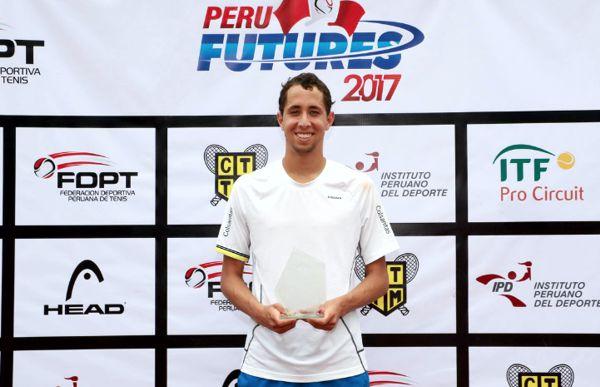 Daniel Galàn campeòn Peru