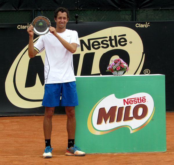 Daniel Galan Subcampeón Milo Open 201
