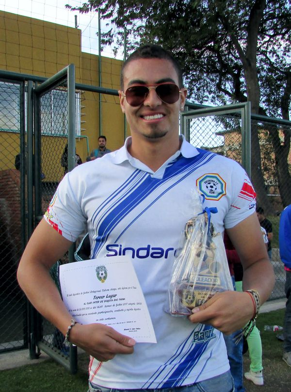 David Arguello goleador