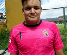 DAVID MORENO ES ARQUERO DE REAL MADRID FC EN EL SUB 17