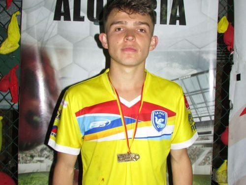 DAVID SANTIAGO PIMIENTO UN REFERENTE DE LA PAZ FC