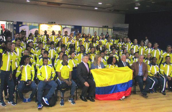 Delegación a II Juegos suramericanos de la juventud