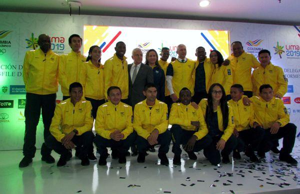 Delegación colombiana a panamericanos