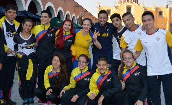 Delegacion Colombiana de Karate