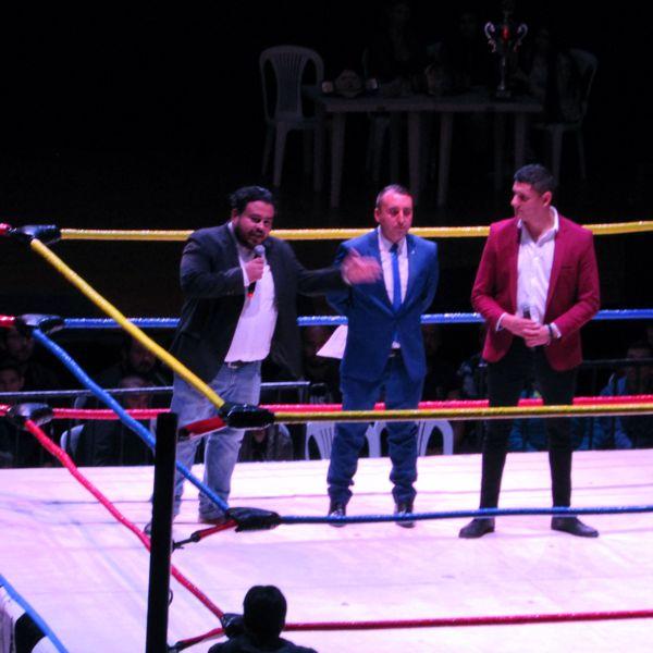 Diego Barriga, Gio Muñoz y Sebastian García