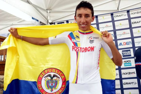 Egan Bernal Campeon L'Avenir
