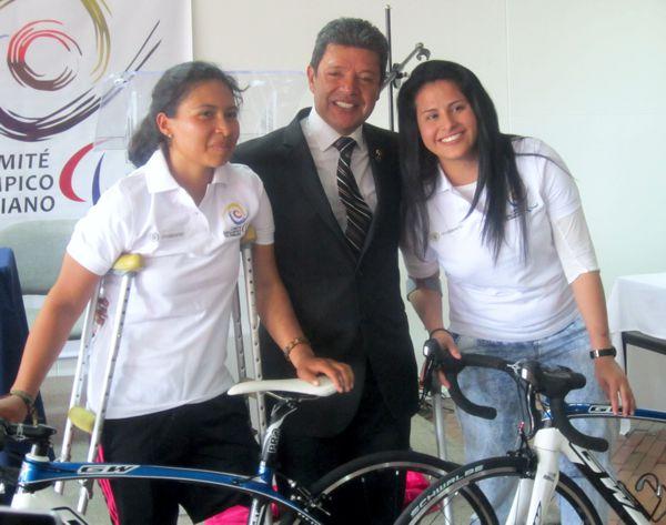 YADY FERNANDEZ Y DIANA CAROLINA MUNEVAR NUEVAS INTEGRANTES DEL MOVIMIENTO PARACYCLING