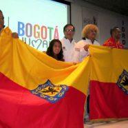 ENTREGA DE LA BANDERA A DEPORTISTAS QUE REPRESENTARÁN A BOGOTÁ EN LOS JUEGOS NACIONALES Y PARANACIONALES 2015