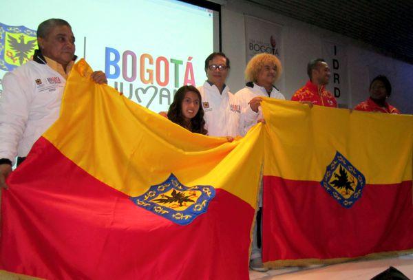 Entrega bandera Bogotá 2015 2