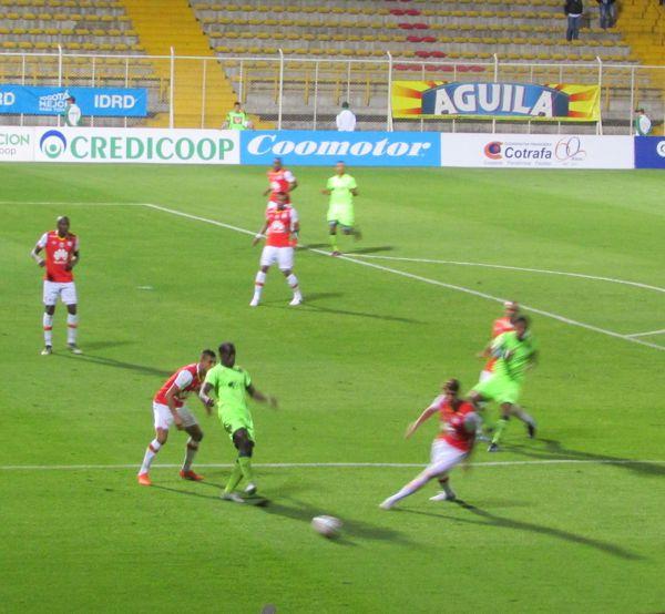 Equidad vs Santa Fe Copa Aguila