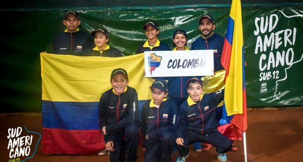 Equipo Colombia Sub 12