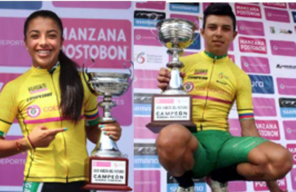 Erika Botero y Edwin Cubides