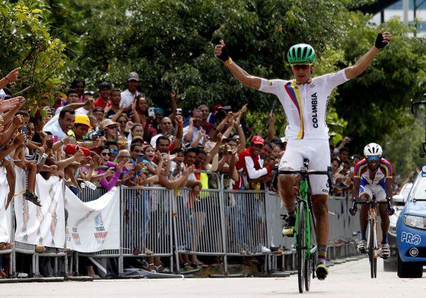 Estratégica medalla en ciclismo de ruta
