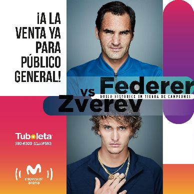 Federer boletería 3 etapa