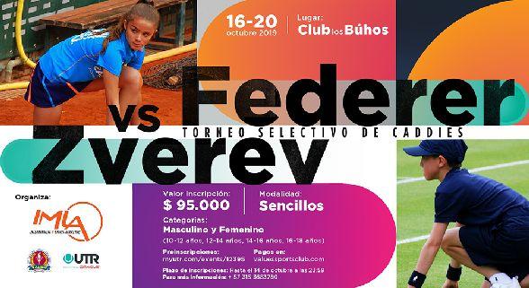 Federer vs Zverev - Torneo Selectivo de Caddies