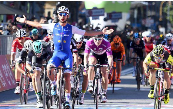 Fernando Gaviria 6 etapa Giro
